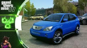 lexus qx 300 lexus rx 350 gta 4 car mod youtube