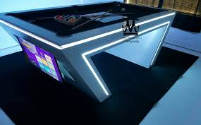 Glow In The Dark Table by Buy Custom Made Virtual Reality Vr Pool Table Glow In The Dark