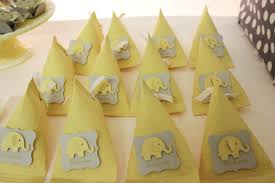 yellow and gray baby shower decorations yellow gray chevron baby shower ideas elephant theme crafty