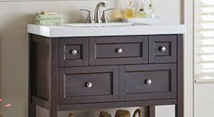ideas for bathroom cabinets shop bathroom vanities at homedepot ca the home depot canada