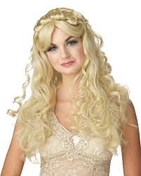 halloween costume wigs blonde princess halloween costume accessories u0026 wigs u0026 hair