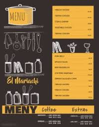 customizable menu templates customizable design templates for restaurant menu postermywall