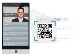 Mobile Resume Builder Free Online Cv Builder With Free Mobile Resume And Qr Code Resume Maker