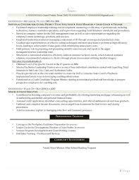 Facilitator Resume Professional Resume Samples Resume Prime