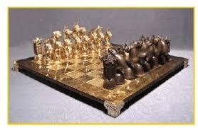 chess set designs boxer foundry bronze chess set dannyquest designs