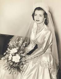 50 S Wedding Dresses Vintage 50s Wedding Dress