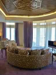 living room corner suite at gray luxury hotel beirut lebanon