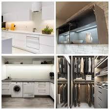 home depot kitchen cabinet lighting eshine 40 in led 6000k white cabinet lighting
