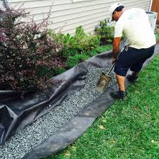 a pertinent remedy to a persistent water drainage problem