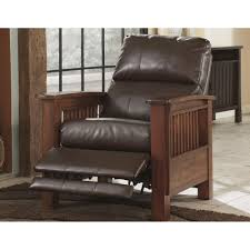 sleek recliner santa fe high leg recliner 1990026 signature design by ashley