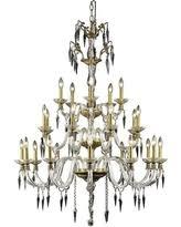 Elegant Crystal Chandelier Slash Prices On Astoria Grand Dodson 20 Light Crystal Chandelier