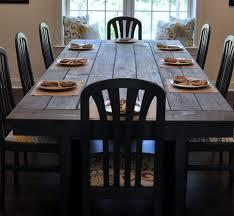 kitchen wood farmhouse table farmhouse dining room set oak