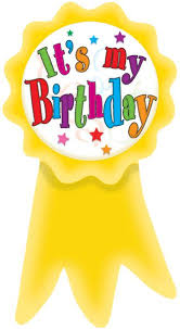 birthday ribbon birthday ribbons wear em badges tcr4851