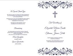 catholic wedding program templates awesome microsoft wedding program template gallery styles