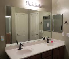 Mirror Wall Bathroom Large Rectangular Bathroom Mirror Fashionable Idea Home Ideas