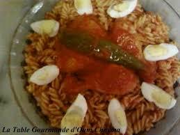 cuisine tunisienne pate au thon pâtes tunisiennes au poulet la table gourmande d oum chaymâ