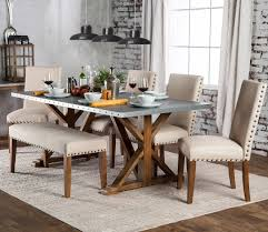 aralla dining table set andrew s furniture and mattress aralla 6 piece dining set with bench