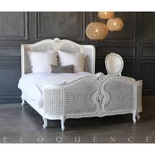 Vintage Bedroom Furniture 1940 Eloquence Vintage Radial Cane Bed 1940 Kathy Kuo