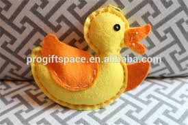 sale felt duck ornament rubber duck made in china buy