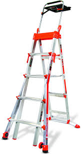 Fold Up Step Ladder by Little Giant Safety Step 4 Step Ladder Walmart Com