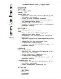 resume templates free download creative webcam 7 free resume templates perfect resume template and microsoft word
