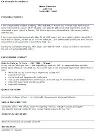 Job Profile In Resume by 20 Personal Profile In Resume Example Hr Flowcharts