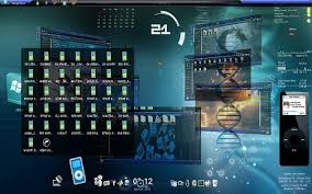 future 3d theme 3d themes windows 7 themes