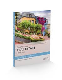 just released essentials of real estate finance 14th edition
