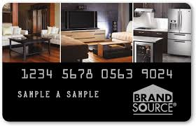 brandsource credit card cascade home décor