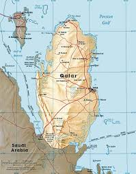 Bahrain Map Middle East by Qatar Maps