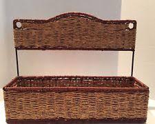 rattan shelf home garden ebay