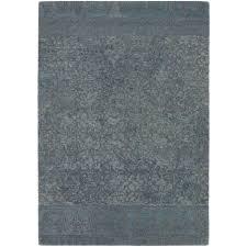 Chandra Rug Chandra Berlow Blue Grey 5 Ft X 7 Ft 6 In Indoor Area Rug