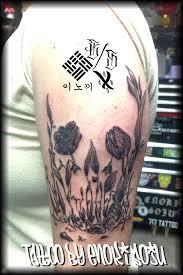 floral flower skull by enoki soju by enokisoju on deviantart