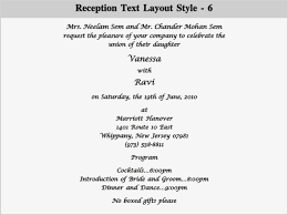 indian wedding reception invitation wording indian wedding dinner invitation wording hindu wedding reception