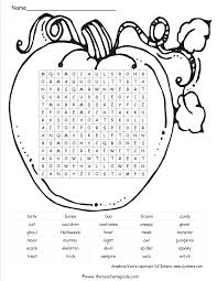 5 best images of pumpkin word search printable printable