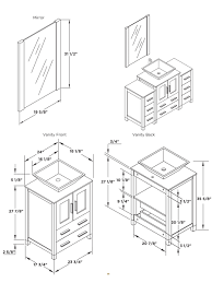 bathroom vanity base cabinet diions gallery including dimensions