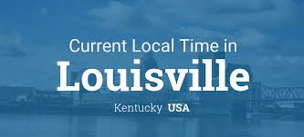 Time Zone Map Kentucky by Current Local Time In Louisville Kentucky Usa