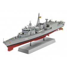 amphibious rv revell 5143 german frigate class f122 a model constr model