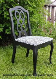 Damask Chair Simply Chic Treasures Black And White Damask Chair Or The Chair