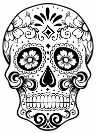 what are skull tattoos and what do they stand for sugar skull outline skull tattoo skulltattoo sugarskull t tt00
