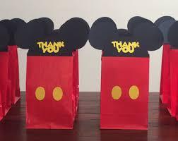 mickey mouse party favors mickey mouse party favors etsy