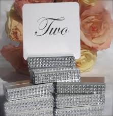 silver wedding table numbers table number holder silver wedding table number holder