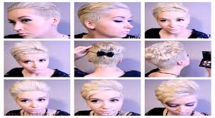 differnt styles to cut hair hair tutorial pt 2 rocking 5 different pixie hairstyles youtube