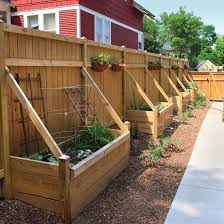 Backyard Vegetable Garden Ideas Best 25 Vegetable Garden Planters Ideas On Pinterest When To