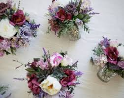 flower centerpieces etsy