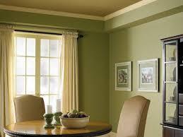 contemporary home interior warm green living room colors ideas