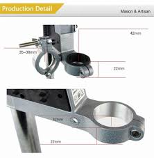 power tools accessories bench drill press stand clamp base frame