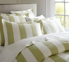White Stripe Duvet Cover Green And White Striped Duvet Cover Sweetgalas