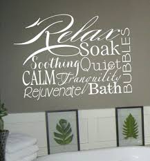 Spa Art For Bathroom - articles with word art for walls inspiration tag word art for wall