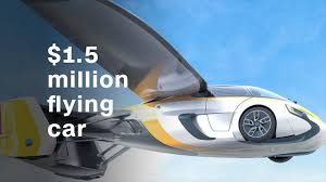 futuristic flying cars the 1 5 million flying car video tech future